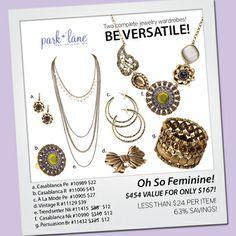 Oh So Feminine Just My Style | Park Lane Jewelry