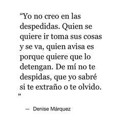 Denise Márquez.
