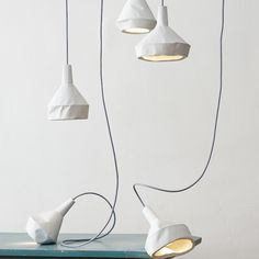 Like-Paper Lampshades.