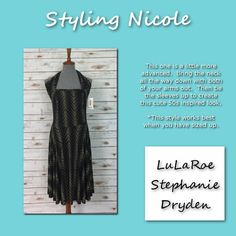 Have you tried this fun way how wearing Nicole?