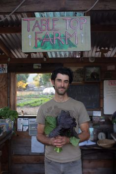 TableTopFarm. Thanksgiving and our carbon footprint. Three great recipes for local produce too.