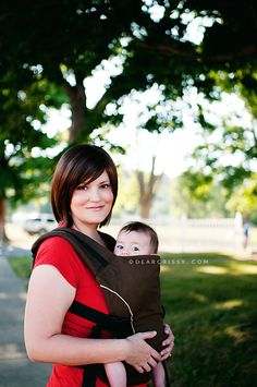 Pikkolo baby carrier from Catbird Baby.