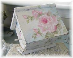 Vintage Birdhouse by Debi Coules