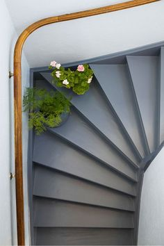 27 Painted Staircase Ideas Which Make Your Stairs Look New Tags: painted staircase, painted plywood stairs, painted stairs black, painted stairs ideas pictures Painted Staircases, Painted Stairs, New Staircase, Staircase Design, Staircase Ideas, 2000 Sq Ft House, Arco Floor Lamp, Stone Stairs, Italia Design