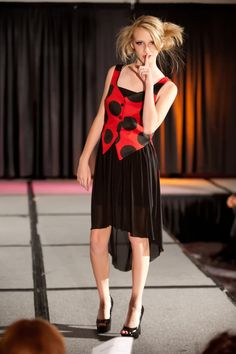 Ladybuginspired Ensemble from The Enchanted Garden by clriegs, $125.00