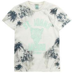 Scotch & Soda Beige T-shirt Beige - 63703 | Melijoe.com
