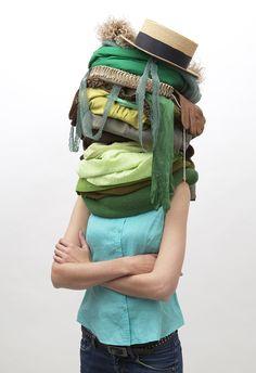 Human Totem – Olivier Chabanis Portraits, Fashion, Contemporary Photography, Moda, Fashion Styles, Head Shots, Portrait Photography, Fashion Illustrations, Portrait Paintings