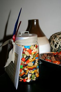 Thanksgiving Trail Mix to go with Neighborhood Thanksgiving Turkey Secret Pal Gifts, Girls Camp, Thanksgiving Turkey, Trail, The Neighbourhood, Thankful, Gift Ideas, Holidays, The Neighborhood