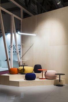Arper / Milano 2014 new Pix stool and table by Ichiro Iwasaki