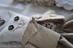 la Tana del Coniglio: gatto handmade
