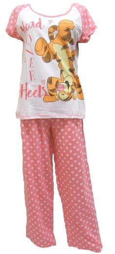Disney Tiger Head over Heels Ladies Pyjamas f9bd89614