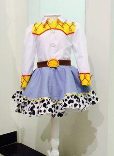 Fantasia Jessie Toy Story.  Vestido 100% algodão. Maravilhosa!!!!!!                                                                                                                                                                                 Más