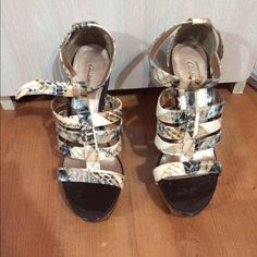 High heel shoes Super cute and comfortable shoes! Match with any outfit! Charlotte Russe Shoes