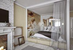 [Interior] Proyecto Shabby Chic Neoclásico | Decorar tu casa es facilisimo.com