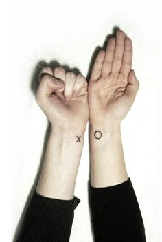 XO tattoo