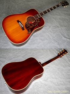 1961 Gibson Hummingbird, Cherry Sunburst,  Hard to find early example