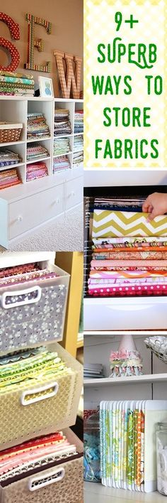 fabric storage ideas   how to organize fabric   fabric organization   sewing for beginners