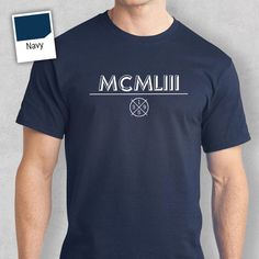 Birthday 1932 Idea Classic Roman Numerals Present Gift Shirt For A 85 Year Old