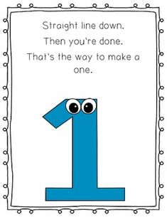 Number poems posters printables and snap block center number number formation poems made into posters poems are for the numbers 1 9 spiritdancerdesigns Image collections