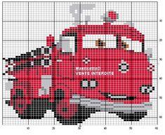camion pompieri frontale