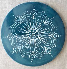Handgemachte Keramik Untersetzer/warmes Teller von artcrafthome