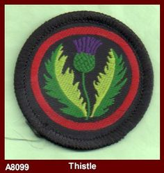 Thistle Patrol old guide badge
