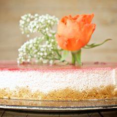 Cheesecake de fresa Vanilla Cake, Desserts, Food, Strawberry Fruit, Pastries, Tailgate Desserts, Deserts, Essen, Postres