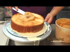 Tres Leches Cake with a dulce de leche toping