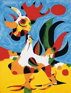 Miro, Joan (1893-1983) - 1940 The Cock (Christie's London, 2007)