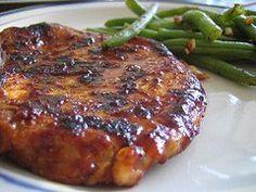 Weber Grill Recipes - Grilled Boneless Pork Chops