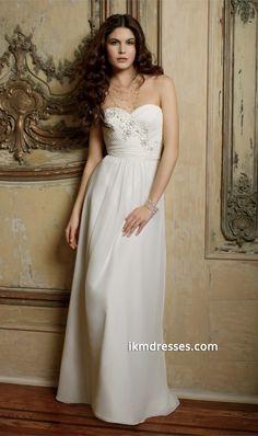 http://www.ikmdresses.com/Strapless-Chiffon-Wedding-Dress-p87621