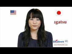 How to Speak Japanese - Months