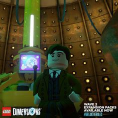 Lego Dimensions Doctor Who Doctor Who, Eleventh Doctor, The Avengers, Age Of Ultron, Winter Soldier, Dr Who Lego, Pokemon Go, The Sonic, Cinema