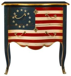 Americana table  - painting ideas