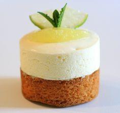Crémeux Citron sur sablé breton - Recette de Mercotte