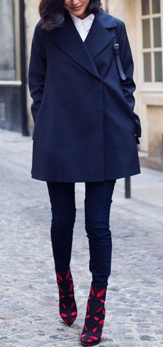 Simple chic with a cute twist