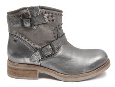 #Nelly #Argent #Silver #Boots #Mode #Fashion #Koah #Femme