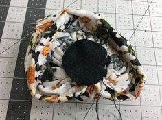 How to make a knot for the turban beanie (12)