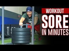 Prowler Sled Workouts - 5 Best Moves for LOWER BODY Power - YouTube