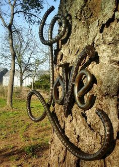 Hey, I found this really awesome Etsy listing at https://www.etsy.com/listing/231740177/rebar-love-sign-wedding-gift-metal-art