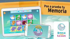 Parejas and Learn: miniatura de captura de pantalla: app educativa de Smile&read