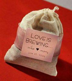 Such a cute wedding favor idea!