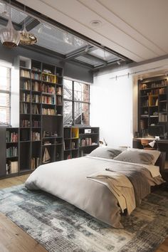 10 Stunning Industrial Living Room Designs That You Can Create For Your Urban Living Space Industrial Decor Design No. 9654 #homeindustrialdecor #industrialapartments #industrialdecor #industrial_furniture