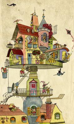 Book Illustrations on Behance