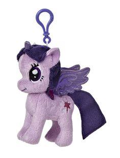 207e4ccc878 My Little Pony Twilight Sparkle 4.5-Inch Clip-On Plush