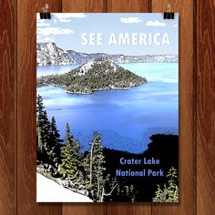 The National Park System commissioned posters for each of our national parks. There are too many awesome one to pick just one