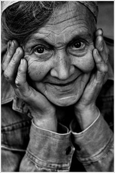 When I am an Old Woman...love the joy in her face. More