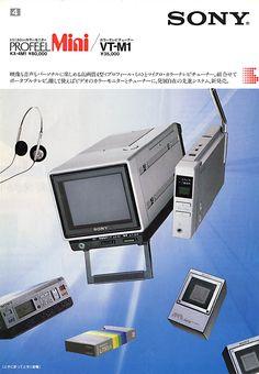 Sony KX-4M1 Profeel Mini (1983)