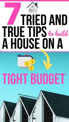 Are you building a house for the first time and from the ground up? Here are some house building tips to keep the cost of your house building budget on track. The process of a new construction home from scratch is worth it. Here is a checklist and ideas on how to make sure your budget doesn't get overrun without getting rid of your home building must haves. These things to know before building are a must-read and should be kept in your house build binder. #house #homebuild #construction
