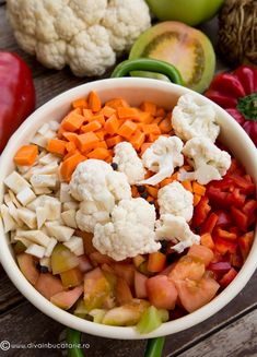 Cauliflower, Mexican, Vegetables, Ethnic Recipes, Food, Preserves, Salads, Cauliflowers, Essen